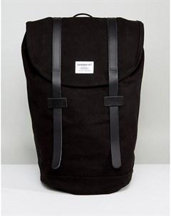 Черный рюкзак Stig Sandqvist