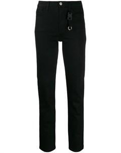 Alix джинсы скинни с брелком 28 черный Alix