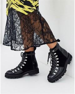 Кожаные походные ботинки Nanette Grenson
