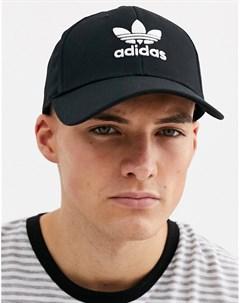 Черная кепка с логотипом Черный Adidas originals
