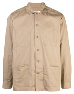 Battenwear рубашка canyon с карманами xl коричневый Battenwear