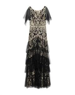 Длинное платье Marchesa notte