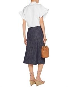 Джинсовая юбка Tanya taylor