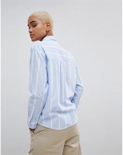 Рубашка в полоску с вышитым логотипом Мульти Carhartt wip