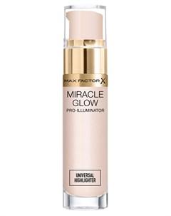 Хайлайтер прозрачный для лица Miracle Glow Pro Illuminator Universal Highlighter 15 мл Max factor
