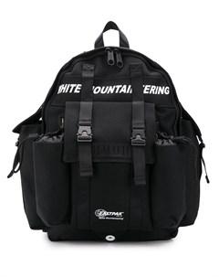 White mountaineering рюкзак из коллаборации с eastpak один размер черный White mountaineering