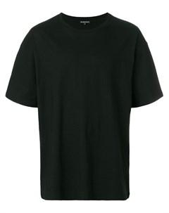 Ann demeulemeester blanche классическая футболка s черный Ann demeulemeester blanche