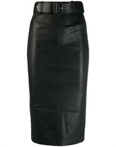 Stouls юбка с завышенной талией s черный Stouls