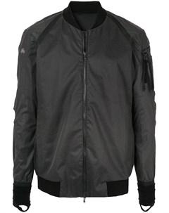 Devoa куртка бомбер с карманом на рукаве 5 черный Devoa