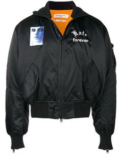 Куртка бомбер с вышивкой Mr. completely