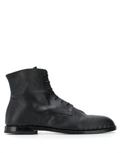 Measponte ботинки acero на шнуровке 42 5 черный Measponte