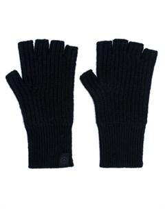 Rag bone овые перчатки митенки один размер черный Rag & bone