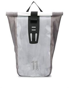 11 by boris bidjan saberi водонепроницаемый рюкзак velocity один размер серый