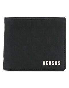versus кошелек в два сложения один размер черный Versus