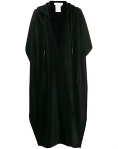 Litkovskaya кардиган пальто с капюшоном 36 черный Litkovskaya