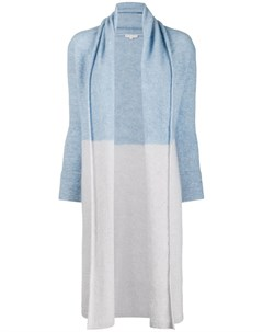Borgo asolo кардиган пальто с воротником шалькой m синий Borgo asolo
