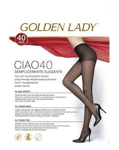 Колготки 40 den ЧЕРНЫЕ Golden lady