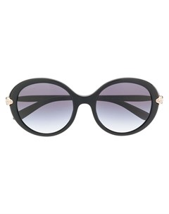 Bulgari солнцезащитные очки serpenti 54 черный Bulgari