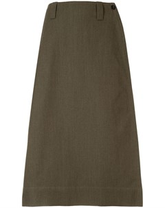 Margaret howell юбка с завышенной талией и большим карманом xs зеленый Margaret howell