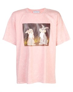 Rochambeau футболка с графичным принтом thumper l розовый Rochambeau