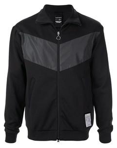 Satisfy спортивная куртка spacer l черный Satisfy