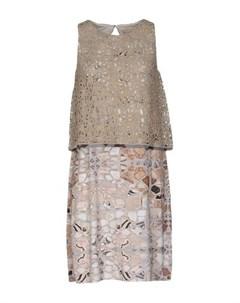 Короткое платье Tessuto della memoria by malìparmi
