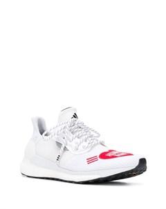 Adidas by pharrell williams кроссовки human made с перфорацией 8 белый Adidas by pharrell williams