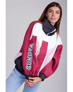Ветровка VVY 01 1993 Бордовый Графит Розовый Белый O S Sukova