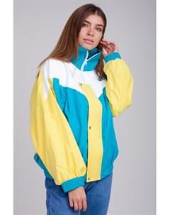 Ветровка VVY 01 1994 Желтый Бирюзовый Белый O S Sukova