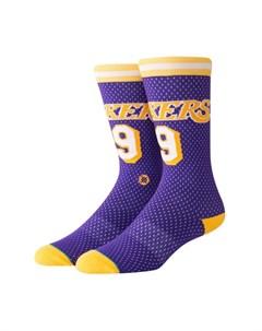 Носки NBA ARENA LAKERS 94 HWC Purple L Stance