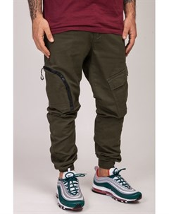 Брюки Asymmetric Pants Green S Skills