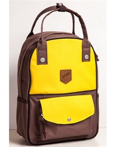 Рюкзак Olimpiada 80 Yellow Brown Запорожец