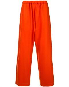 08sircus брюки с эластичным поясом 4 оранжевый