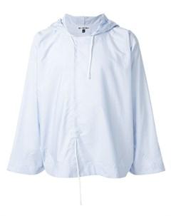 Hed mayner рубашка с капюшоном xs синий Hed mayner