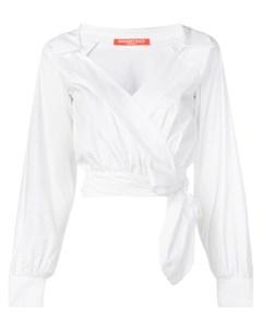 Укороченная блузка с запахом Smarteez