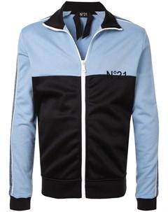 спортивная куртка дизайна колор блок No21