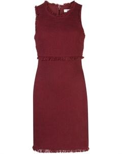 Likely платье мини palmira с бахромой 4 красный Likely