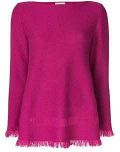 Расклешенный свитер с бахромой Borgo asolo