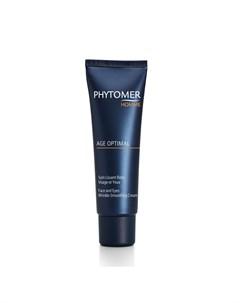 Крем против морщин для лица и контура глаз AGE OPTIMAL FACE AND EYES WRINKLE SMOOTHING 50 мл Phytomer