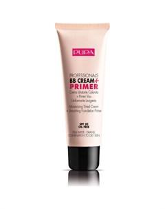 Крем тональный для жирной кожи 02 средний тон кожи BB Cream 50 мл Pupa