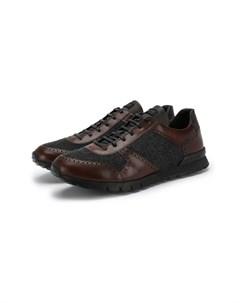 Комбинированные кроссовки Kiton