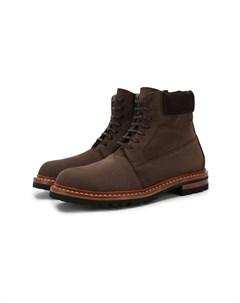 Кожаные ботинки Kiton