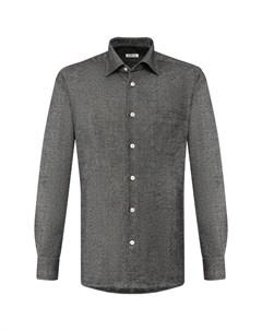 Рубашка из смеси шерсти и кашемира Kiton