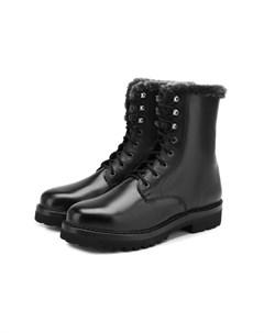 Кожаные ботинки Ralph lauren
