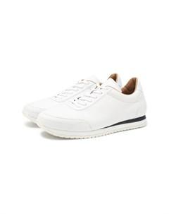 Кожаные кроссовки Brioni