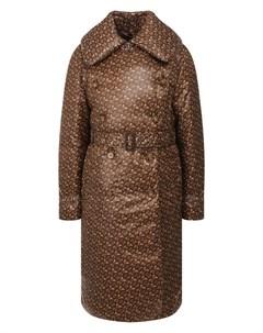 Пуховое пальто Burberry