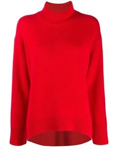 Sminfinity свитер с высоким воротником m красный Sminfinity