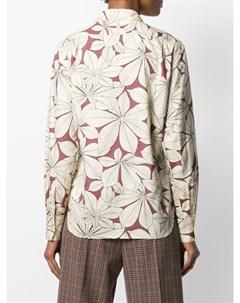 Margaret howell рубашка с принтом 12 нейтральные цвета Margaret howell