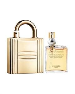 Духи Jour d с футляром в виде золотого замка Hermès