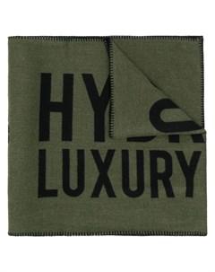 шарф с вышивкой Hydrogen